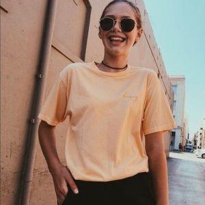 NOT FOR SALE!!💓 Brandy Melville honey shirt
